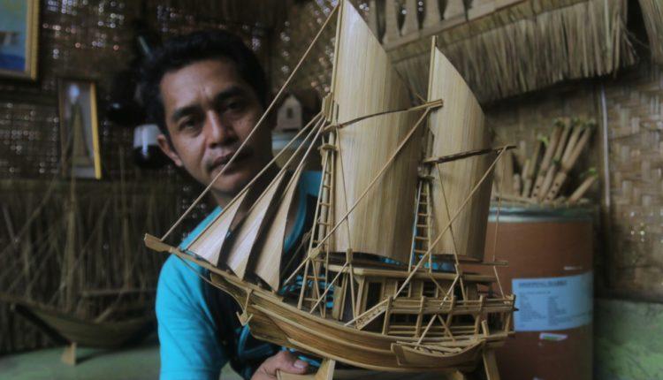 Di Tangan Micky Bambu Disulap Jadi Kerajinan Unik dan Menarik Bernilai Jual Tinggi