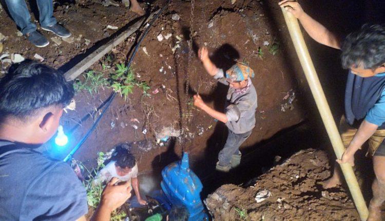 Pengerjaan koneksi ini merupakan upaya PDAM Tirta Pakuan Kota Bogor untuk memperbaiki sistem pengaliran di zona III.