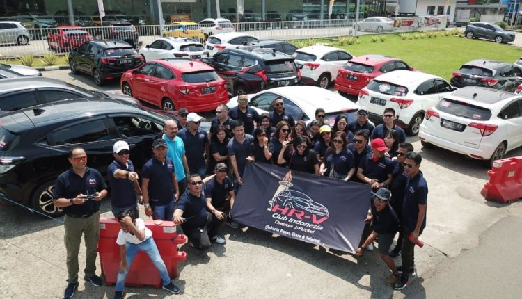 Be Happy & Be Family 2nd Anniversary HRV Club Indonesia Chapter Jputsel.