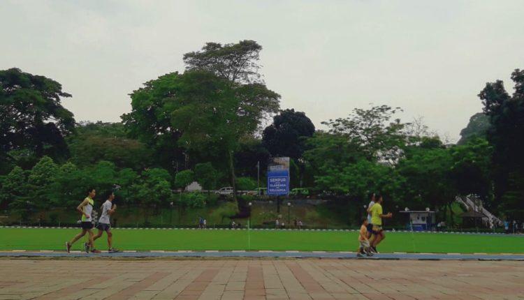 Ada alternatif liburan di Kota Bogor untuk sekadar menikmatinya dengan berolahraga ringan, karena ada sejumlah taman kota yang bisa menjadi pilihan bagi Anda untuk dikunjungi. (FOTO : Donnie/Heibogor)