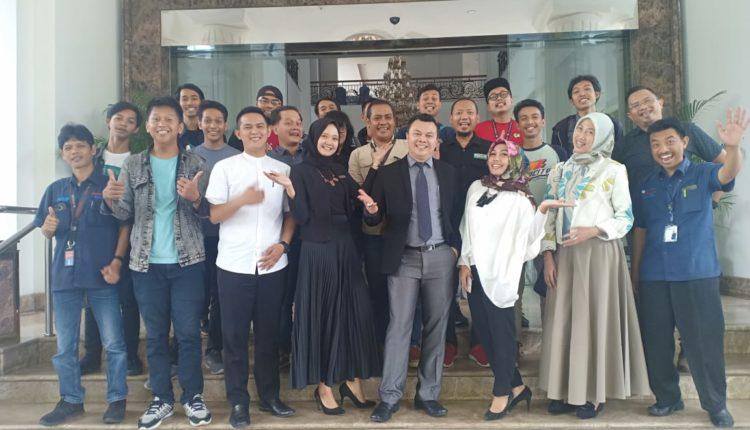 The Sahira Hotel Silahturahmi Bangun Komunikasi dengan Awak Media. (FOTO : Andi/Heibogor)