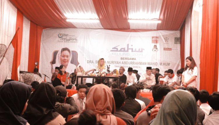 ORENs Kolaborasi Gusdurian Bogor Adakan SOTR di Vihara Dhanagun. (FOTO : istimewa)