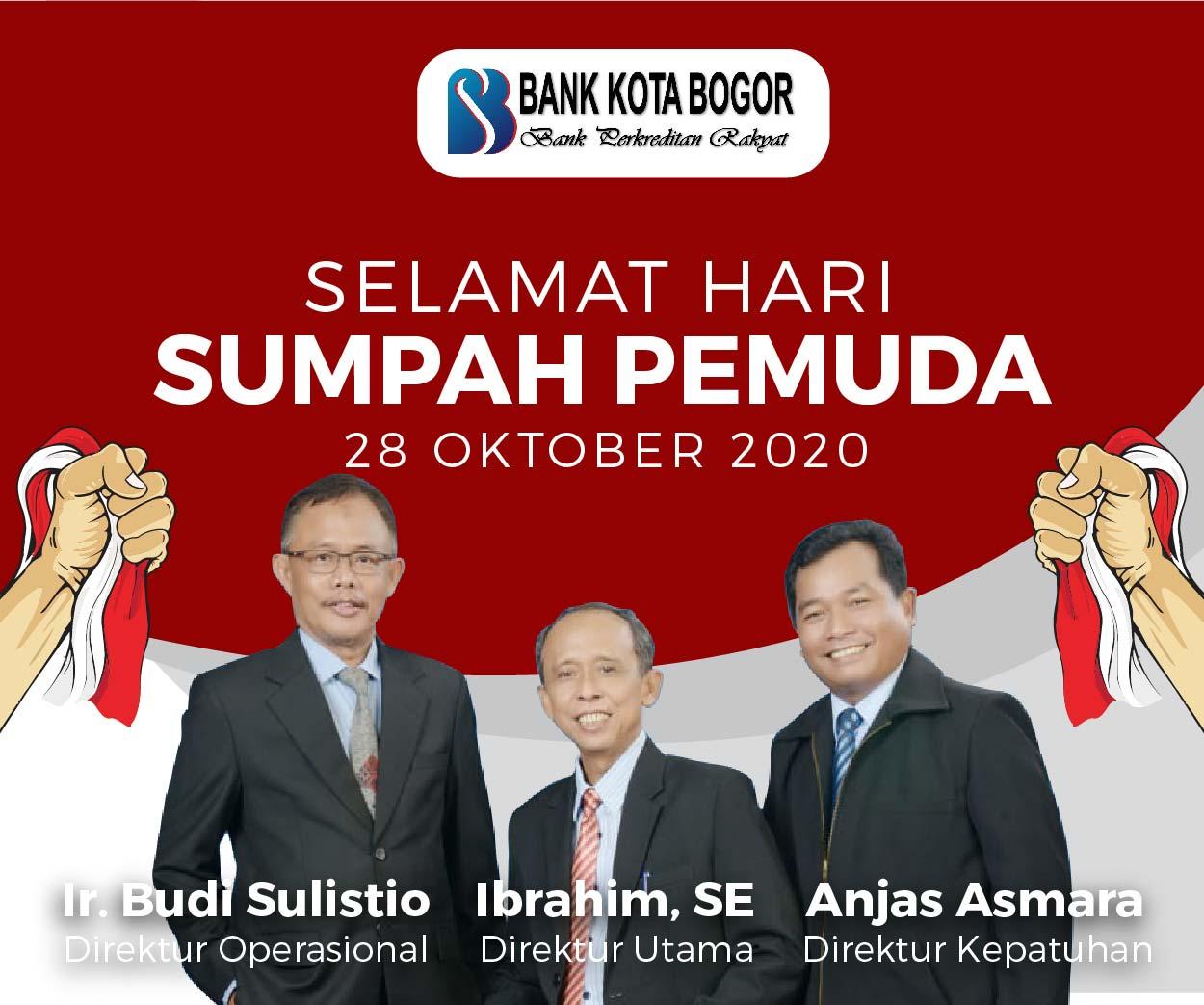 Sumpah Pemuda Bank Kota Bogor