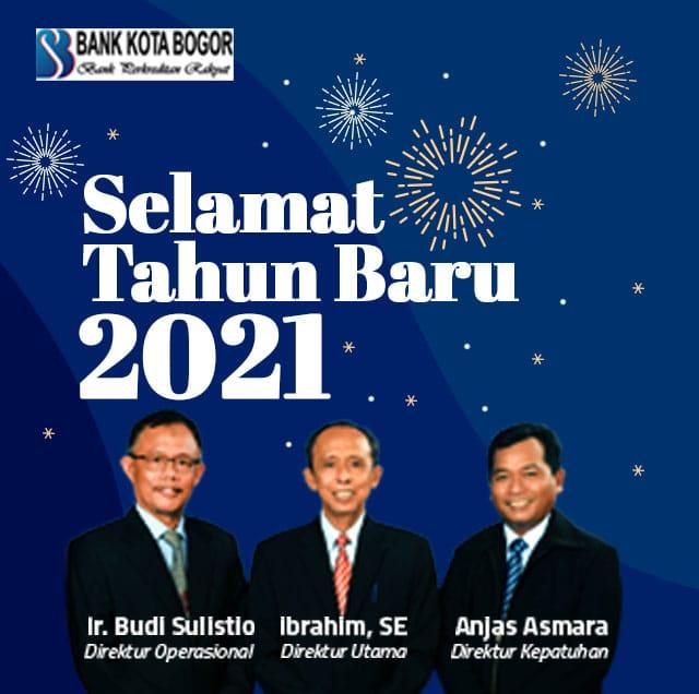 Selamat Tahun Baru Bank Kota Bogor