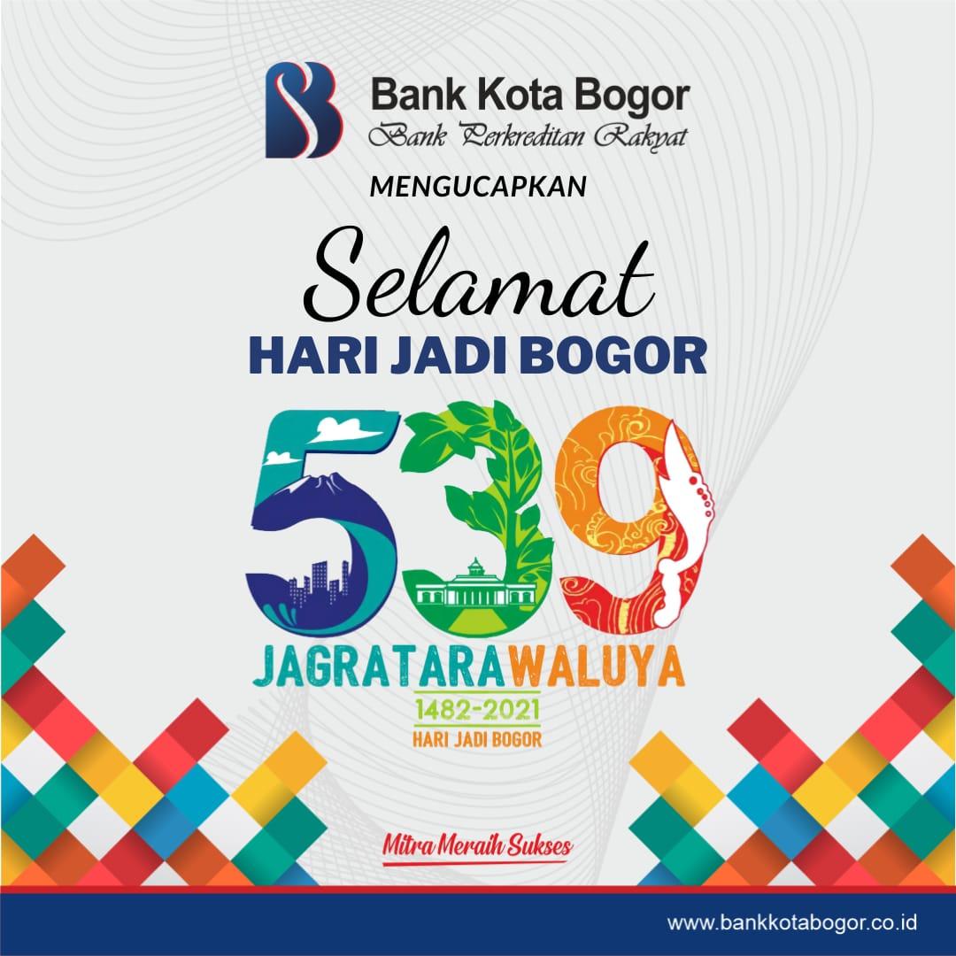 Bank Kota Bogor Ucapan HJB