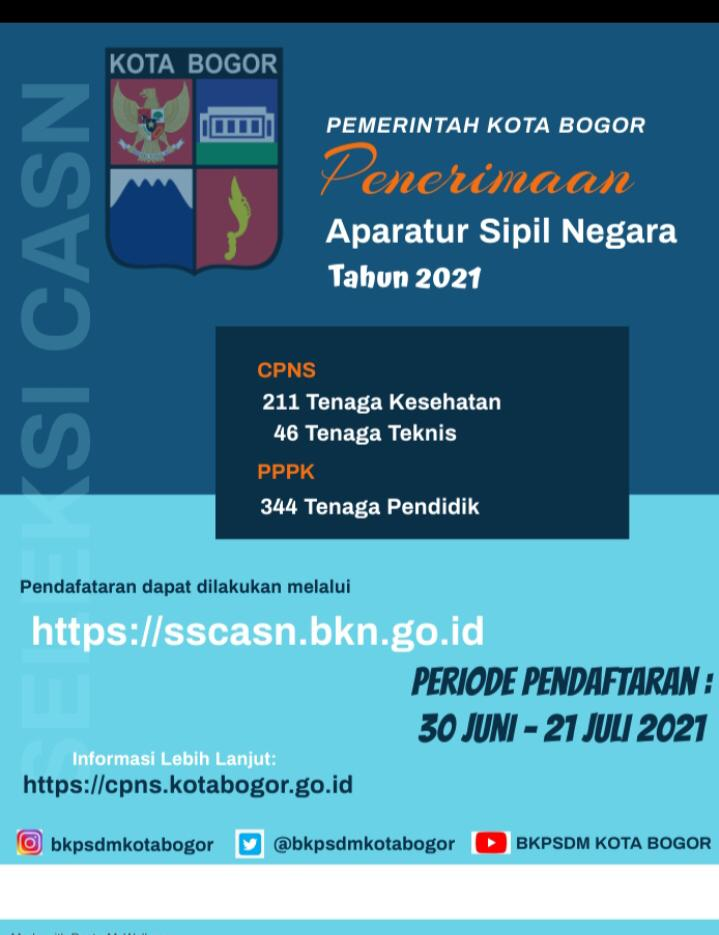 Iklan Loker CPNS dan PPPK